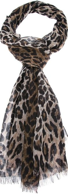 Shop designer scarves for women at Farfetch for warmth and style. Animal Print Fashion, Animal Prints, Winter Fashion 2014, Chevron Scarves, Leopard Print Scarf, Designer Scarves, First Perfume, Couture, Womens Scarves