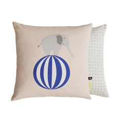 Elephant Cushion design by OYOY Pillow Room, Bed Pillows, Cushions, Scandinavian Nursery Furniture, Elephant Cushion, Travel Systems For Baby, Nursery Accessories, Modern Kids, Cozy Bed