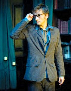 David Tennant will always be my favorite doctor......such a cutie. ;)