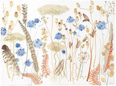 Seedheads, Feathers and Bracken