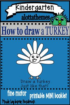 This fun and engaging drawing activity is great for using when teaching the farm unit in the fall or spring for your preschoolers,kindergarten & homeschooling. Use this easy way step by step activity during a class/group teacher directed lesson. #alottathemes #directeddrawing #turkey  Published April 26 2020 Kindergarten Classroom, Kindergarten Activities, Preschool, Drawing Activities, Motor Activities, Farm Unit, Directed Drawing, Farm Theme, April 26