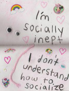 socially inept // 2.19.2017