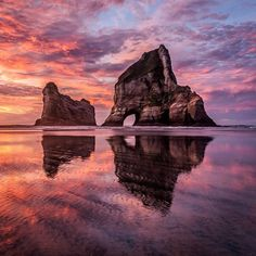 Remarkable Landscapes of New Zealand by Tom Hackett #art #photography #Landscape Photography