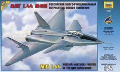 Zvezda 7252 MiG 1.44 Russian multirole fighter