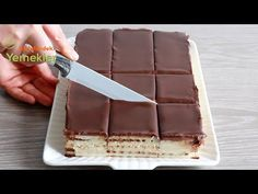 Sweets easy and quick, preparation without eggs and without oven✔ Dessert Cake Recipes, No Bake Desserts, Home Made Simple, Make It Simple, Turkish Recipes, Ethnic Recipes, Paste Recipe, Cheesecake, Food Presentation