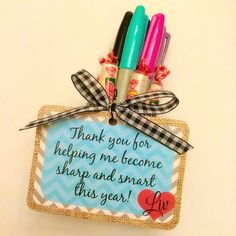 INSTANT DOWNLOAD- Sharp and Smart Teacher Gift Tags - BLUE - Digital File