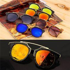 スーパースターファッションサングラス新しい猫アイコーティングサングラス女性ブランドデザイナーヴィンテージサングラス男性oculosデゾル