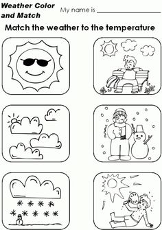 Free Worksheets For Grade 1 Weather With Weather