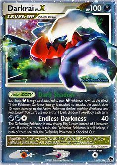 ex pokemon cards | Pokemon Card of the Day: Darkrai Lv. X (Great Encounters)…