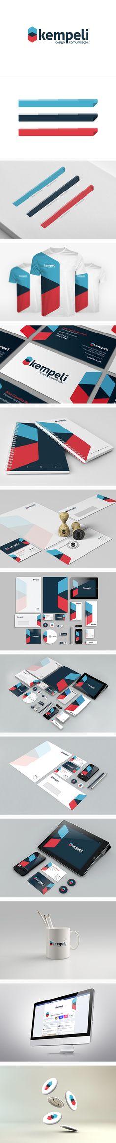 Kempeli | Rebranding by Kempeli Design e Comunicação , via Behance
