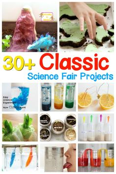 These classic science fair projects are perfect for kids in elementary school! Find everything from moldy bread to a potato battery and more!