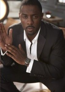 Idris Elba. what a beautiful man. and he has an English accent.