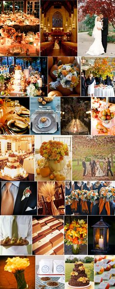 fall really is the best season for a wedding.