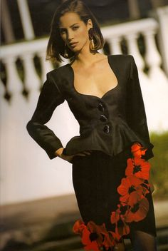 Christy Turlington for YSL, 1990