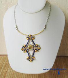 Mina smycken: Herringbone med rivoli