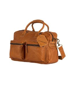 Cowboysbag The Bag camel schooltas  42x27x18 cm Inhoud30 Liter 130,-