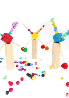 DIY Toy Idea: Make a homemade balance toy and explore the concept of equilibrium.