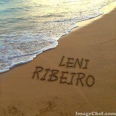 Mensagem de praia