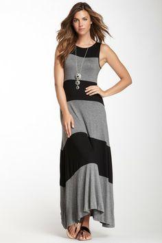 Bobeau Sleeveless Stripe Maxi Dress by Maxi Dresses on @HauteLook