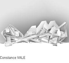 """Constance VALE, """"Incongruous Monolith."""""""