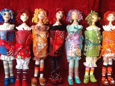 Hussifs made from a Patti Culea pattern