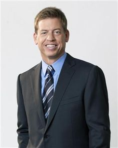 I'm so excited to be a part of this awesome event and it's even better now that Troy Aikman is involved!