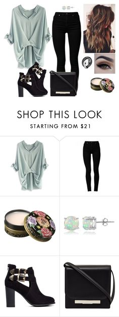 """""""Untitled #269"""" by asgardianka on Polyvore featuring Chicwish, Cheap Monday, Anna Sui, Glitzy Rocks, London Rebel and The Row"""