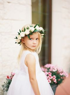 This adorable flower girl wants you to know she's taking her job very seriously! http://www.stylemepretty.com/vault/gallery/38205 | Photography: Mint Photography - http://mymintphotography.com/