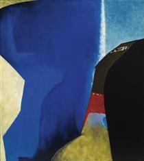 Legend of the Orient Artist: Jock Macdonald Completion Date: 1958 Style: Abstract Expressionism Genre: abstract Vancouver School, Abstract Expressionism, Abstract Art, Avant Garde Artists, Canadian Art, Art Database, Ways Of Seeing, Artist At Work, Book Art