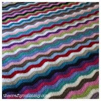 Ripple Blanket - gorgeous would love to have a go at one of these