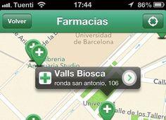 eFarmacias, encuentra rápidamente una farmacia abierta cerca de tu posición
