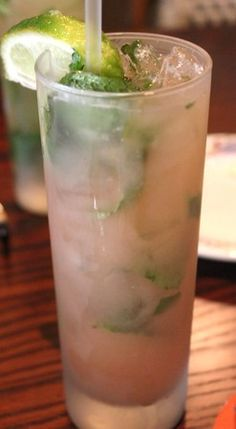GUAVA MOJITO 12 fresh mint leaves,1½ tsp. sugar,1 can (7.1 oz) GOYA® Guava Nectar, 3 tbsp. lemon juice, 1 tbsp. club soda, 3 oz. white rum