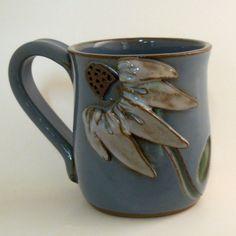 Echinacea Mug by mudworks on Etsy, $36.00