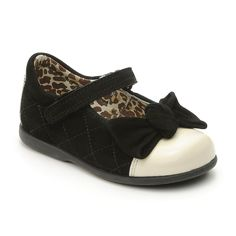 timeless design 5a137 8b9fe -rite by Myleene Klass - Belle Black Suede with Cream Toe Girls Shoe