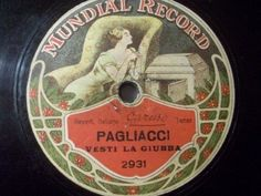 Big 50% Discount Auction !!!    E. CARUSO ultrarare Mundial Rec. Private orig. Matrixes #78rpm #Schellackplatte
