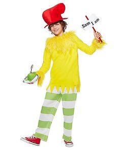 Kids Sam I Am Costume - Dr. Seuss - Spirithalloween.com