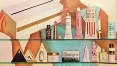 Harper's Bazaar 'Beauty Boutique' Cosmetic Kit, 1964