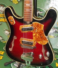teisco hollow body wiring diagram 2013 ione custom semi hollow body guitar mike moreno model customized teisco hollow body 6 string
