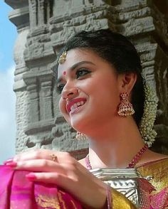 Keerthy Suresh Hot, Kirthi Suresh, Indian Actresses, Actors & Actresses, Best Heroine, Blue Glass Vase, Vijay Actor, South Actress, Most Beautiful Indian Actress