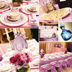 Sofia the First Princess Tea Party! #eventthemes #eventplanning #eventdesign