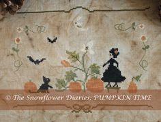 The Snowflower Diaries: Pumpkin Time