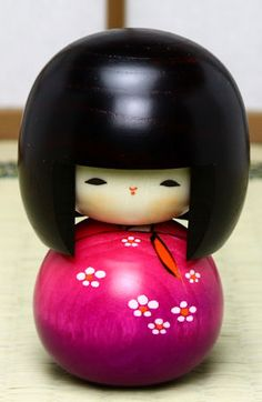 KOKESHI - Japanese wooden dolls