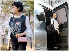 배우 김민정, 화보같은 여유로운 일상 모습 포착 Bags, Fashion, Handbags, Moda, Fashion Styles, Fashion Illustrations, Bag, Totes, Hand Bags