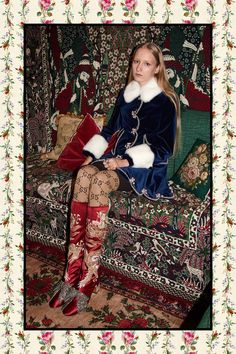 Gucci - Pre-Fall 2017. ~ (**WITHOUT THE FUR ⚠️)