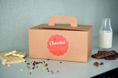 Coffret Chocolat Show par The PopCase