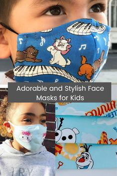 Stylish face masks for kids became in demand because we have to make sure all kids remain protected from the virus. Here are 20 adorable face masks for boys and girls.