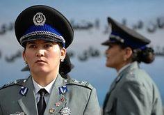 Female officers of the Afghan National Police.  Afghan Images Social Net Work:  سی افغانستان: شبکه اجتماعی تصویر افغانستان http://seeafghanistan.com