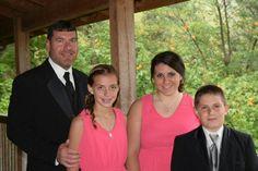 Brian, Lanie, Hannah and Brock