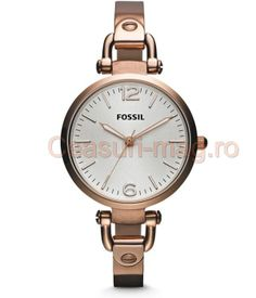 Get the Fossil Georgia Rose Gold Stainless Steel Watch today and Enjoy Free Expedited Shipping. 2013 Fossil Collection, Buy yours Today! Georgia, Fossil Jewelry, Jewelry Watches, Stainless Steel Watch, Stainless Steel Bracelet, Bracelet Making, Bracelet Watch, Bangle Bracelet, Rose Watch
