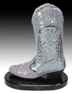 Silverado boot sculpture